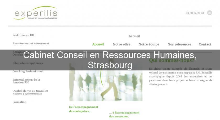 Cabinet conseil en ressources humaines strasbourg emploi et formation - Cabinet recrutement strasbourg ...