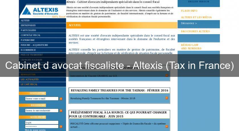 Cabinet d avocat france - Cabinet d avocat fiscaliste paris ...