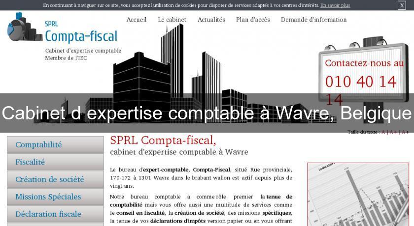 Cabinet d 39 expertise comptable wavre belgique fiscalit - Cabinet expertise comptable toulouse ...
