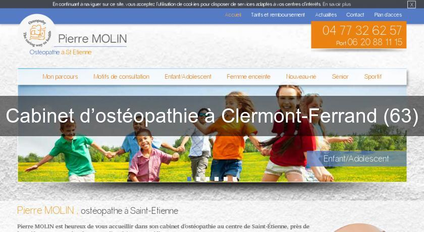 Cabinet d ost opathie clermont ferrand 63 ost opathie - Cabinet ophtalmologie clermont ferrand ...