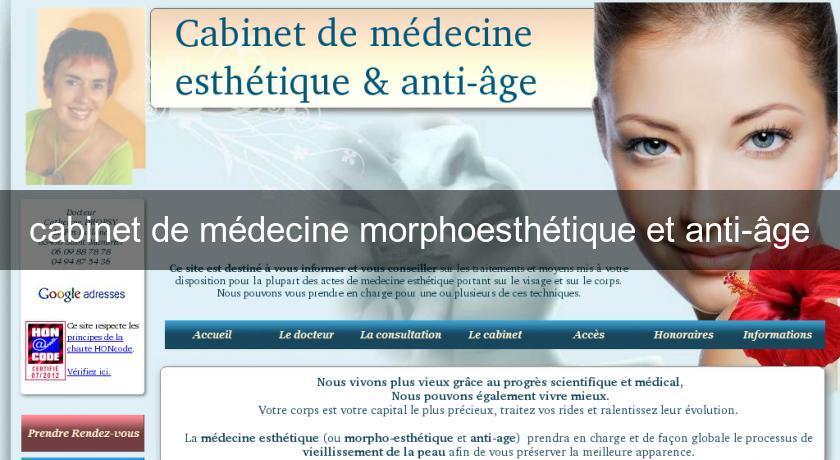 cabinet de m decine morphoesth tique et anti ge chirurgie esth tique. Black Bedroom Furniture Sets. Home Design Ideas