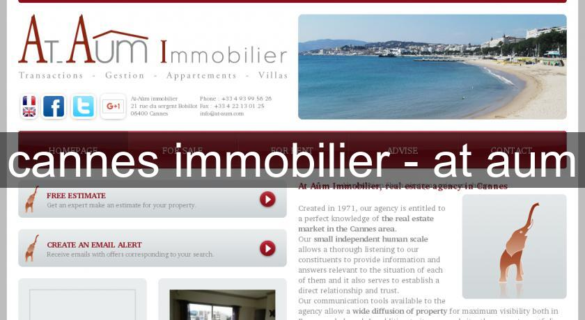cannes immobilier - at aum
