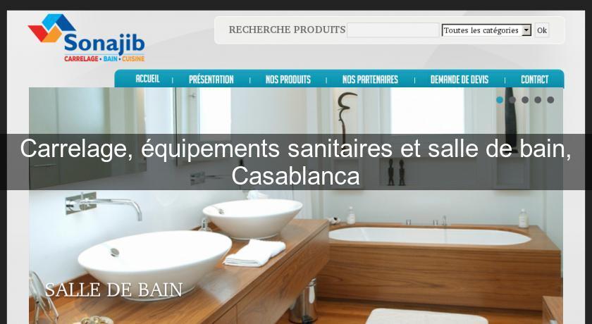 Carrelage, équipements Sanitaires Et Salle De Bain, Casablanca Carrelage