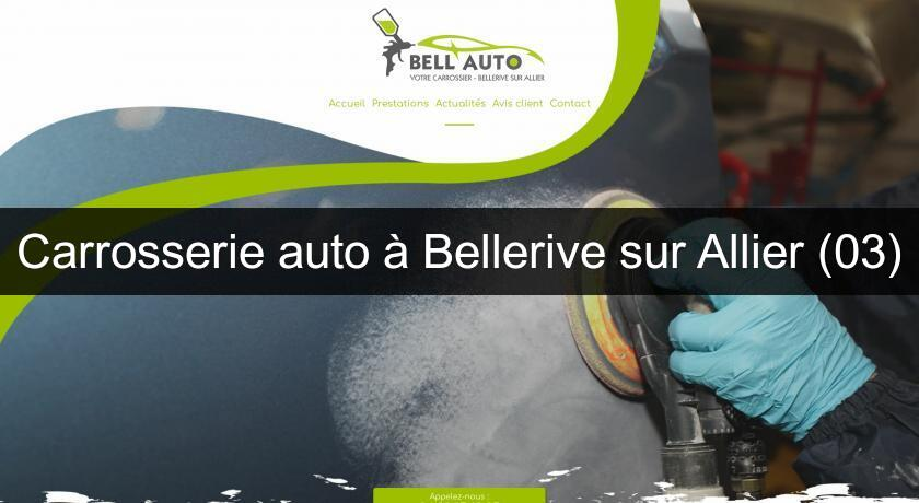 Carrosserie auto à Bellerive sur Allier (03)