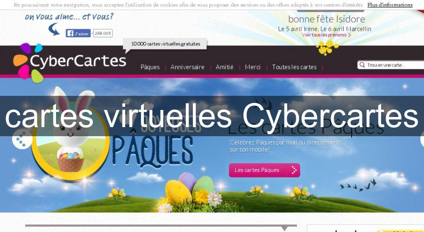 cartes virtuelles Cybercartes