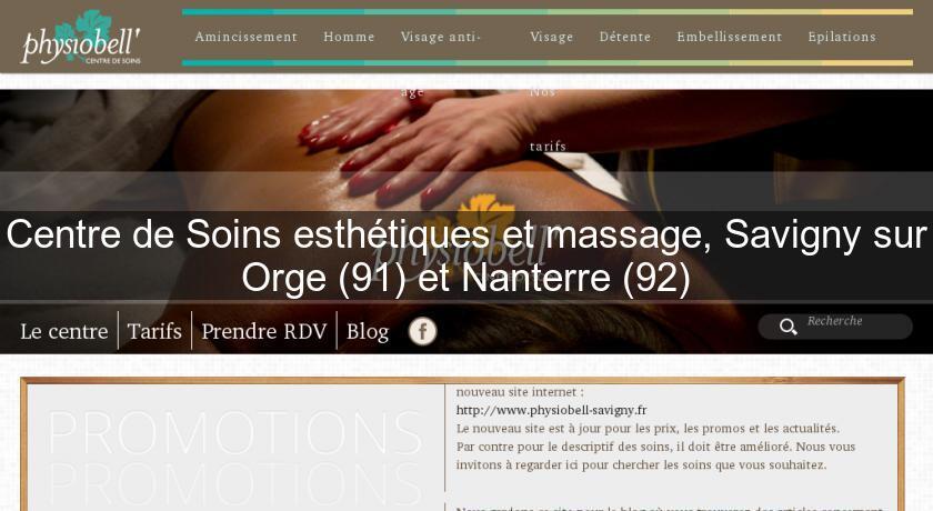 Centre De Soins Esthétiques Et Massage Savigny Sur Orge 91