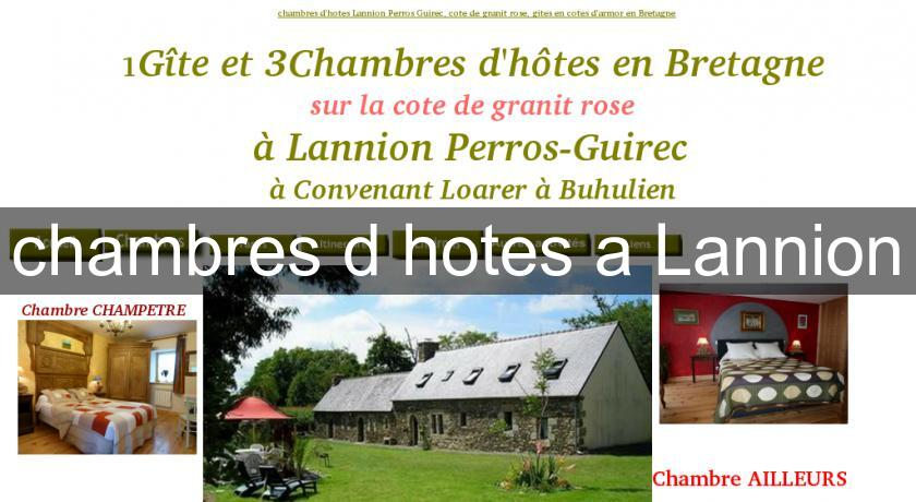 chambres d'hotes a Lannion
