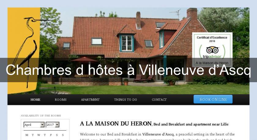 Chambres d 39 h tes villeneuve d ascq chambres hotes - Chambres d hotes villeneuve d ascq ...
