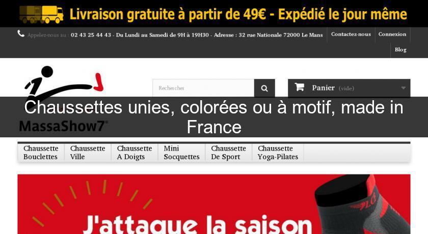 b3a26cbcfc9 Chaussettes unies