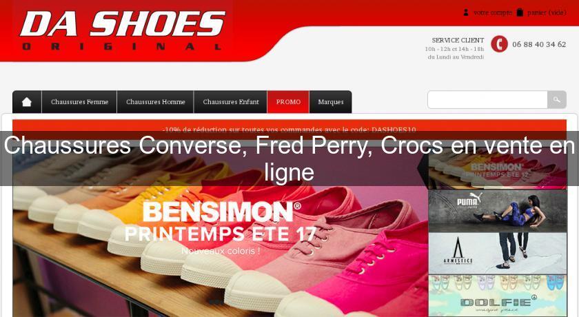 Chaussures ConverseFred Ligne Chaussure PerryCrocs Vente Homme En shQdrtC