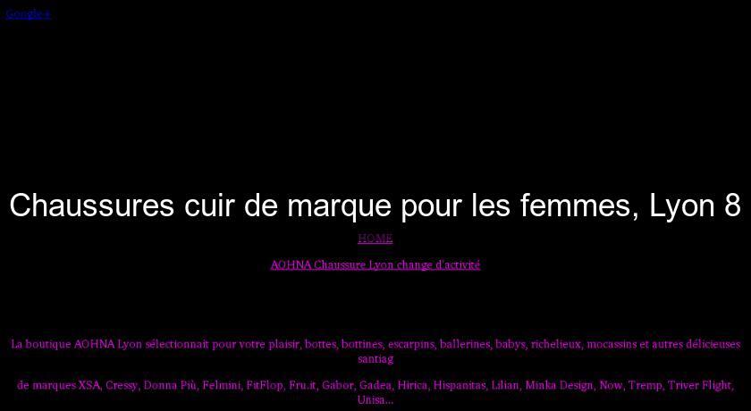 Chaussures Pour 8 Les FemmesLyon Cuir De Femme Marque WEH9YDI2