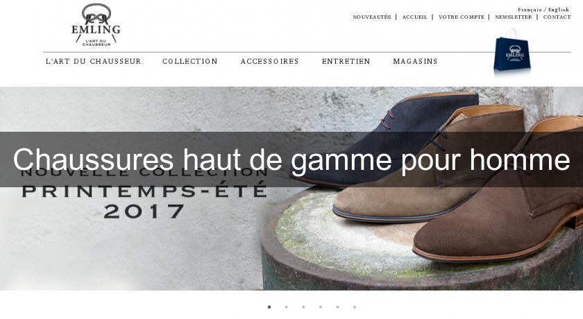 chaussures haut de gamme pour homme chaussure homme. Black Bedroom Furniture Sets. Home Design Ideas