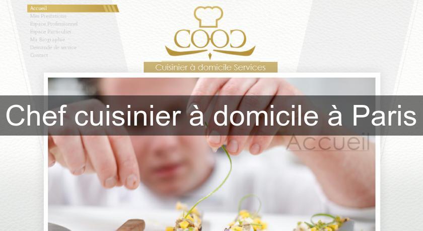 Chef cuisinier domicile paris cuisine domicile for Cuisinier domicile