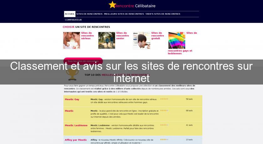 classement et avis sur les sites de rencontres sur internet rencontre. Black Bedroom Furniture Sets. Home Design Ideas