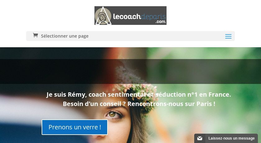 coach en séduction à paris