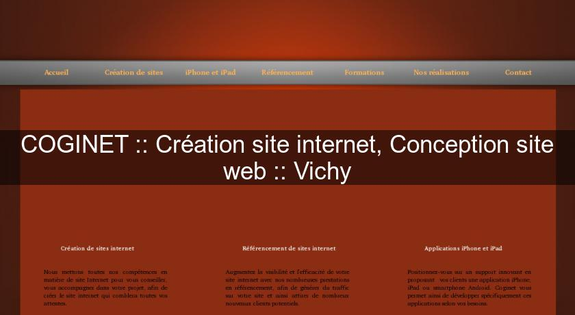 COGINET :: Création site internet, Conception site web :: Vichy