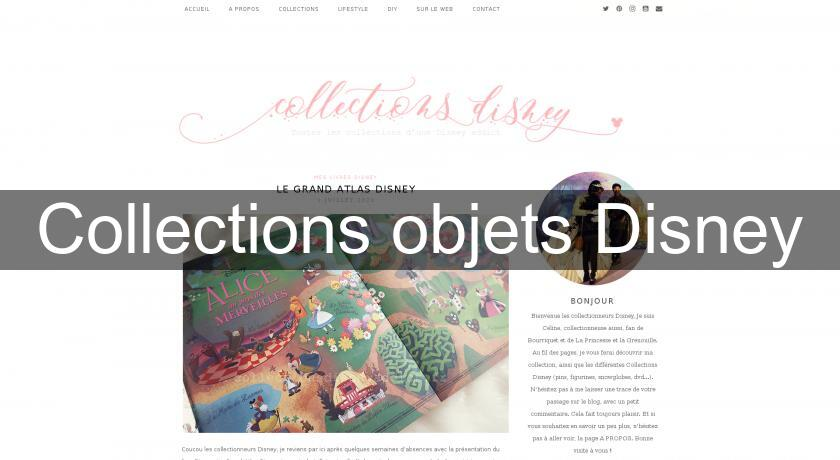 Collections objets Disney
