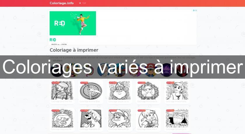 Coloriage Avril Printemps.Coloriages Varies A Imprimer Images Et Cliparts