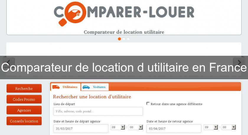 Comparateur location utilitaire comparateur location - Comparateur location utilitaire aller simple ...