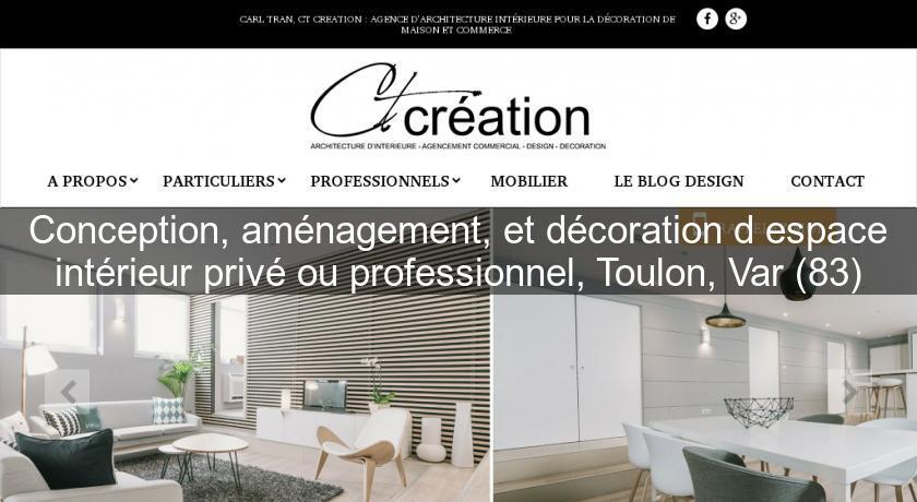 Conception, aménagement, et décoration d\'espace intérieur privé ou ...