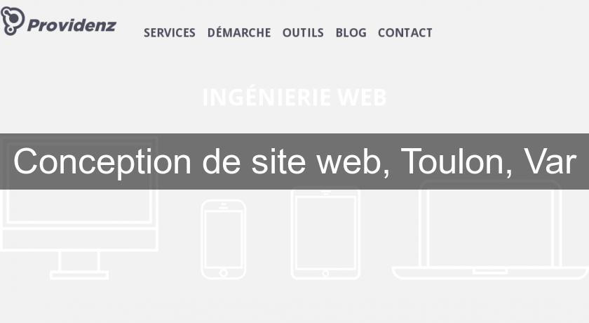 Conception de site web, Toulon, Var