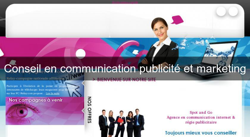 Conseil en communication publicité et marketing
