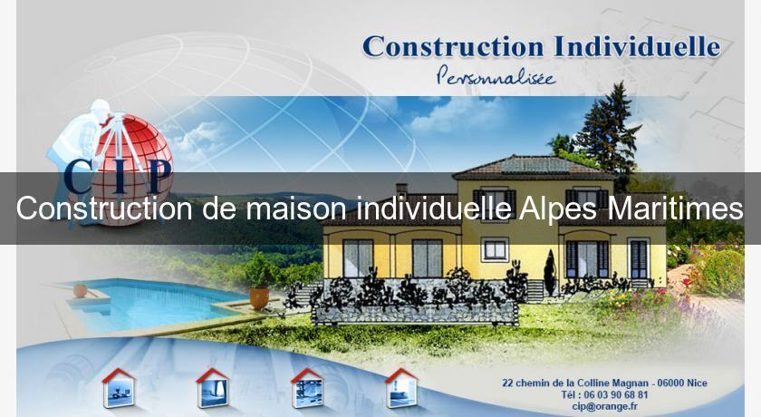 Construction de maison individuelle alpes maritimes for Construction de maison individuelle