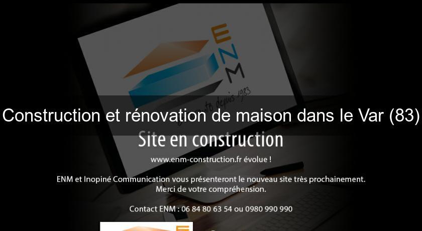 renovation maison 83