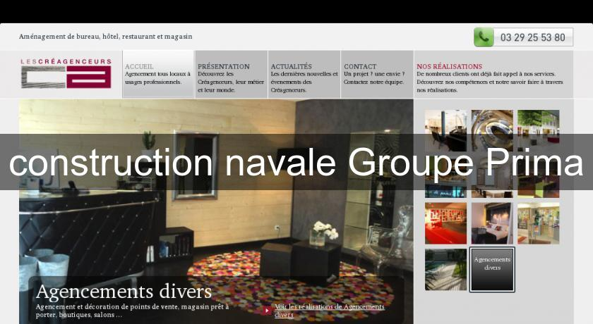 construction navale Groupe Prima