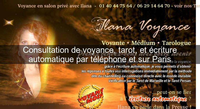 Consultation de voyance, tarot, et écriture automatique par téléphone et  sur Paris Voyance af6077ad4351