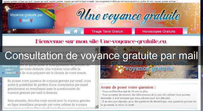 40efe5974c326b Consultation de voyance gratuite par mail Voyance