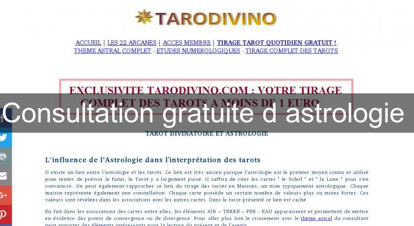 Consultation gratuite d astrologie Astrologie 3e2bc58220c6