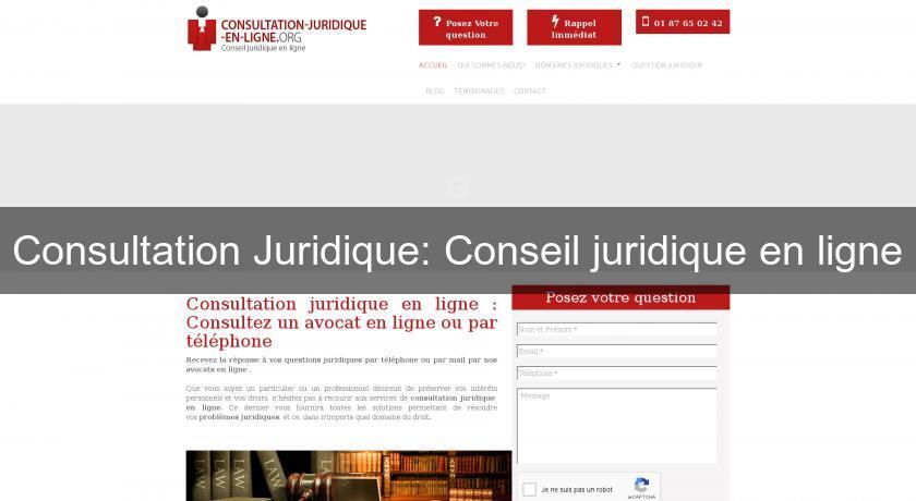 07566019f14 Consultation Juridique  Conseil juridique en ligne Avocats