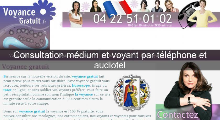 Consultation médium et voyant par téléphone et audiotel Voyance c5d392c3235f