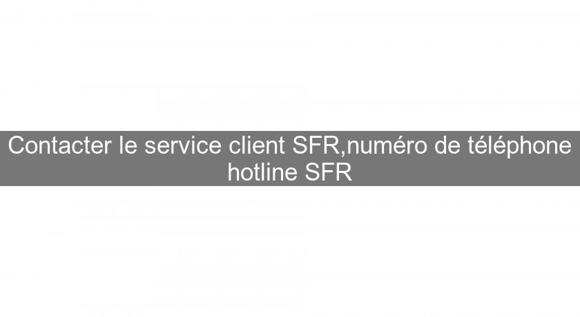 Contacter Le Service Client Sfr Numero De Telephone Hotline Sfr Bons