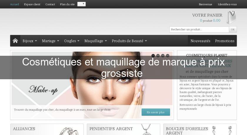site de cosmétique