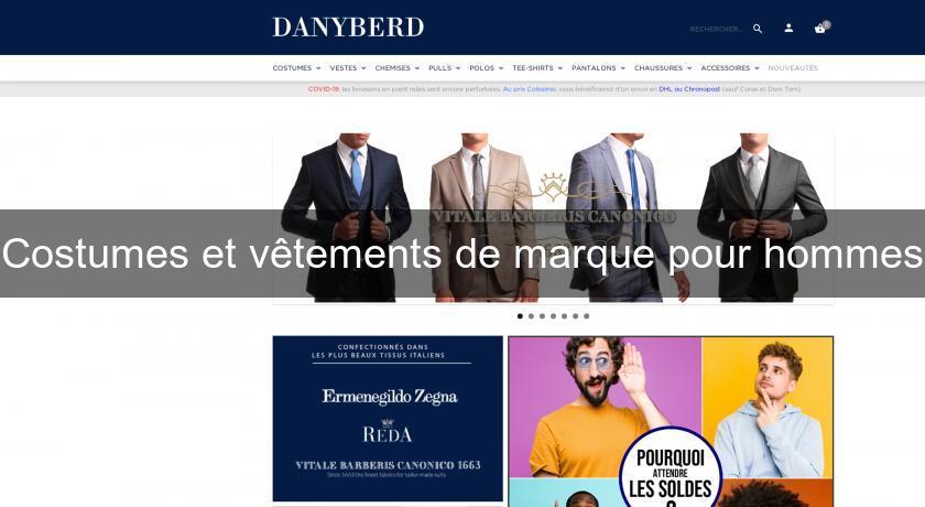 Pret Pour Marque De Hommes Costumes Et Homme À Vêtements Porter XZlwuOPkiT