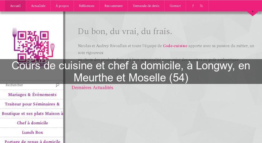 cours de cuisine et chef à domicile, à longwy, en meurthe et ... - Cours De Cuisine A Domicile