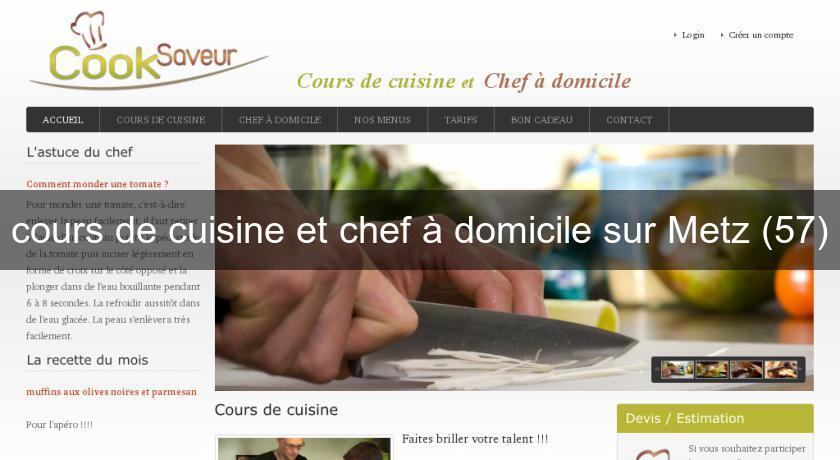 Cours De Cuisine Et Chef à Domicile Sur Metz Cuisine à Domicile - Cours de cuisine metz