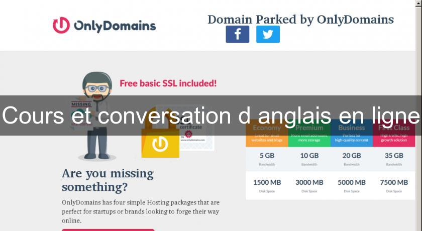 Cours et conversation d 39 anglais en ligne cours de langues - Cours de cuisine en ligne gratuit ...