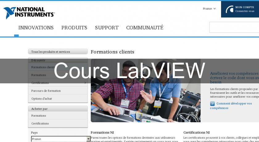 Cours LabVIEW