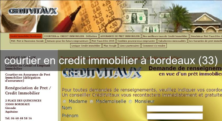 courtier en credit immobilier à bordeaux (33)