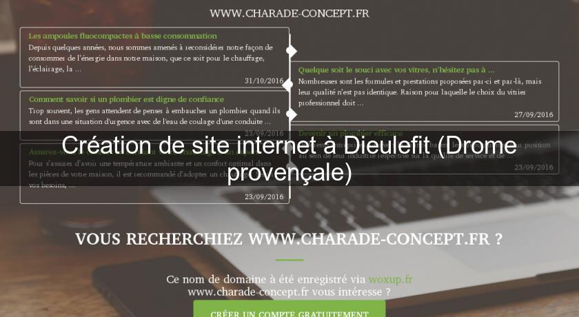 Création de site internet à Dieulefit (Drome provençale) Site Professionel  spécialisé afe2f0684225