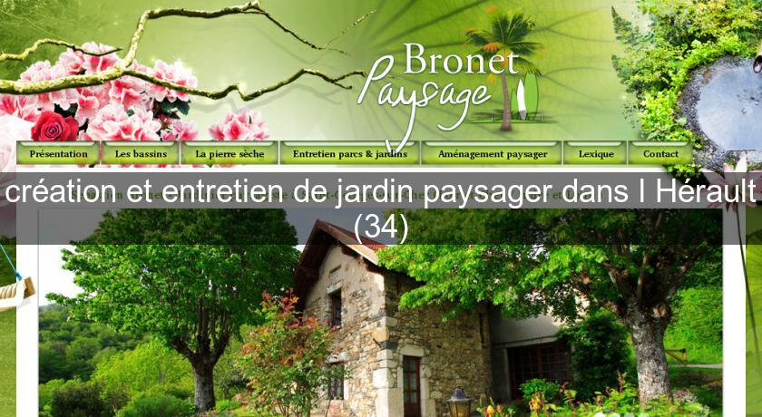 entretien jardin herault