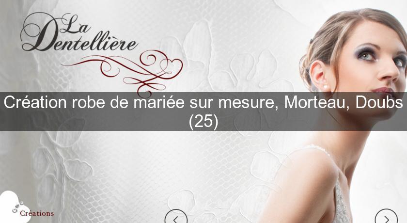 Robe de mariee sur mesure vosges