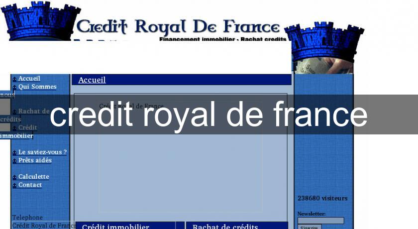 credit royal de france