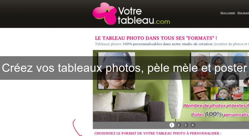 cr ez vos tableaux photos p le m le et poster montage. Black Bedroom Furniture Sets. Home Design Ideas