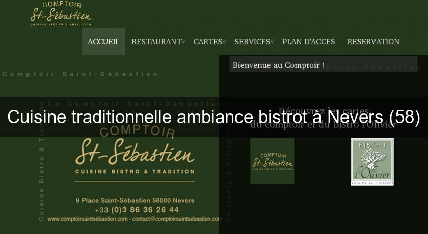 Cuisine traditionnelle ambiance bistrot à Nevers (58)