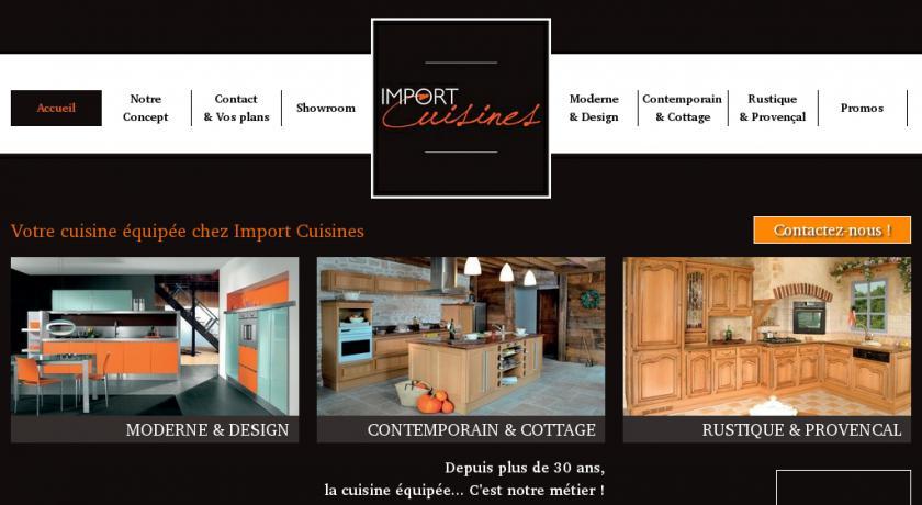 Cuisines équipées Import Cuisines Belgique Cuisine équipée