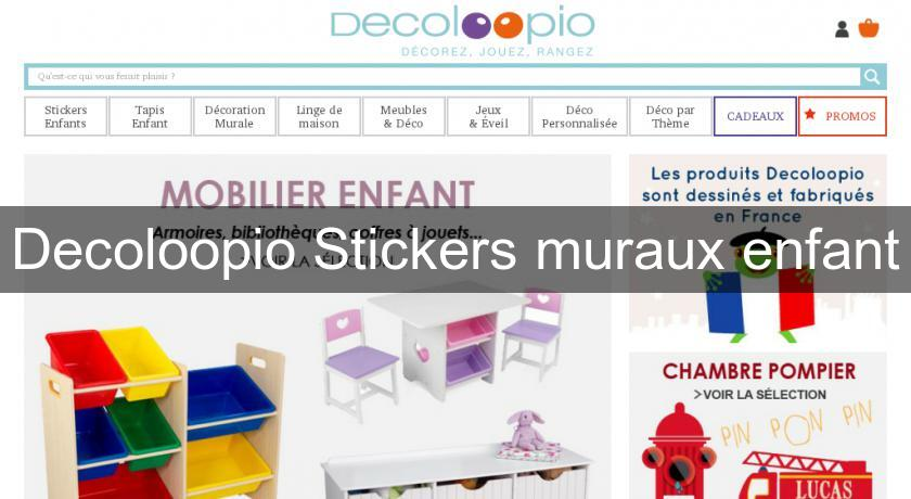 Decoloopio Stickers muraux enfant